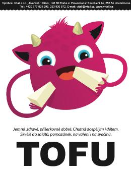 Tofu sladké