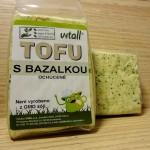 Tofu s bazalkou