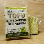 Tofu s mědvědím česnekem